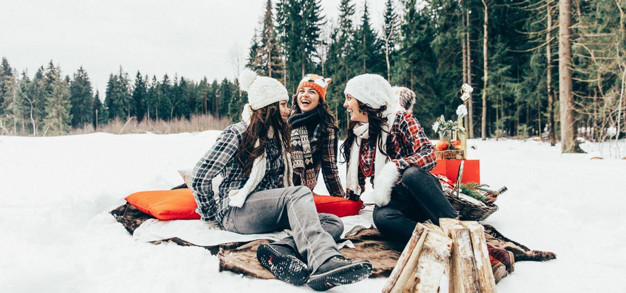 Уикенд на природе: как отдохнуть зимой в свободное время?