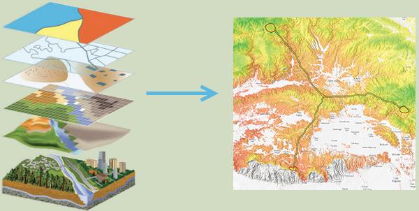 Географическая информационная система и ее роль в развитии заповедников и парков