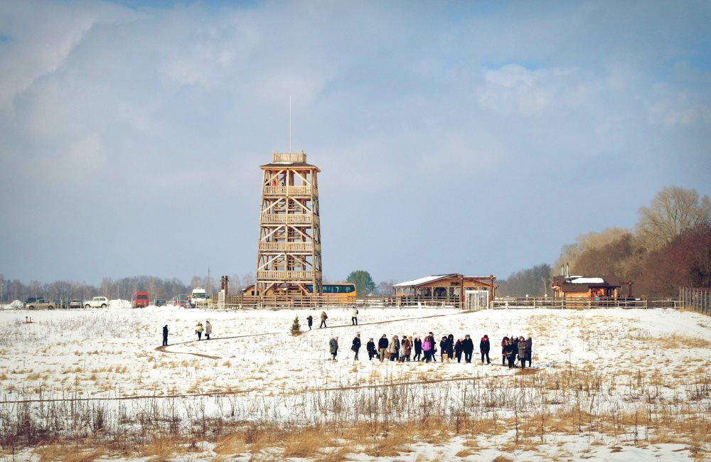 "Winter meeting in the ""Beremytske"" Nature Park"